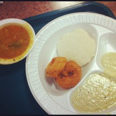 Fresh South Indian Breakfast @GaneshTempleCafeteria