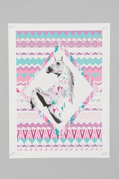 UrbanOutfitters.com > Vasare Nar And Kris Tate For Society6 Twin Shadow Print