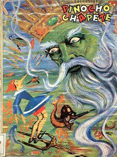 Pinocho (Personaje de ficción). Pinocho Chapete / Salvador Bartolozzi (1960)