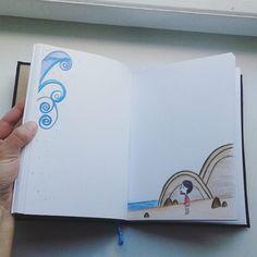 #handmadenotebook #handmade #demiurgespark #notebook #notepad #songofthesea #sketchbook Handmade Notebook, My Notebook, Notebooks, My Photos, Laptop, Etsy, Notebook, Laptops