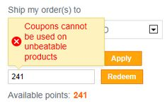 Points And Coupons