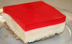 Δροσερό cheesecake με ζελέ