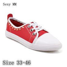 Flats Women Loafers Woman Casual Shoes Skate Walking Flat Shoes Plus Size 33  – 40 41 90c297d6ce99
