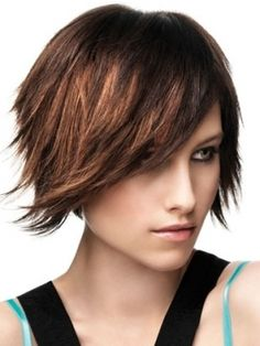 Short bob. Short hair. I would love to have the balls to do this....sooo cute and manageable :)