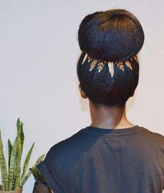 Holiday Hairstyles for Naturals, Natural Hair, Hair Style, Black Girl Make Up