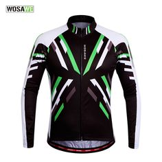 WOSAWE Men's Cycling Jerseys Clothing Bicycle Ciclismo Long Sleeve Tops Bike Jacket Breathable T-shirts 2016 New -- AliExpress Affiliate's buyable pin. Click the VISIT button to view the details on www.aliexpress.com