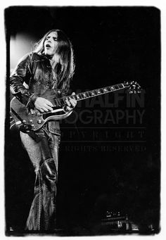 Frank Marino, Mahogany Rush.  One of the best guitarists of the '70s (often compared to Hendrix) who'd be much better known if his band wasn't so often confused with that other Canadian power trio called just Rush.