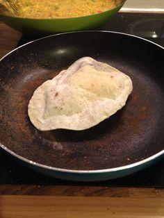 Homemade chapatti