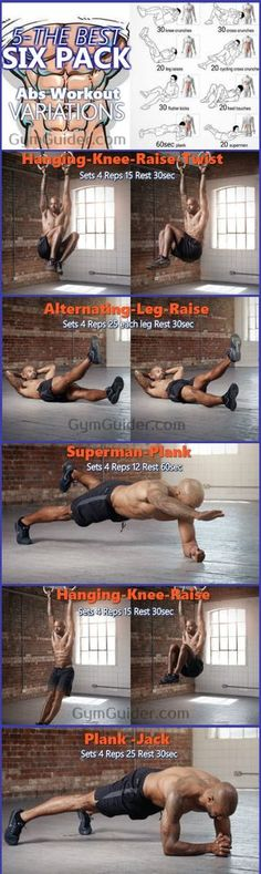 """Could there be an ab-sculpting program that actually works and is doable for most people? To train your abs & core efficiently you need to train it through different directions."""" Try these specially designed supersets at the end of your workout to hit every ab from every angle. We all want a six-pack set of abs, don't we? It boosts our self-confidence, makes us proud of our bodies and makes us feel good about ourselves. You envy that dude you saw at the gym with."""