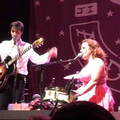 Shovels & Rope performed on Saturday at The NorVa