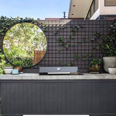 Outdoor Fire, Outdoor Areas, Outdoor Living, Outdoor Decor, Backyard Garden Design, Patio Design, House Design, Outdoor Bbq Kitchen, Outdoor Kitchen Design