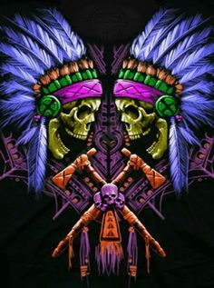 Twin Chiefs w/Vibrant color scheme