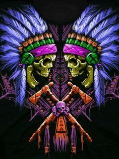 Twin Chiefs w/Vibrant color scheme