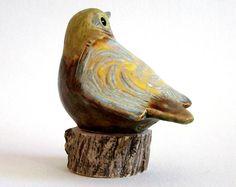 aardewerk vogel