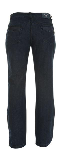 Ladies - Italian Boot Cut Jeans - Back