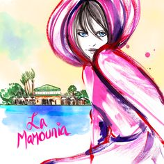 Postcard from La Mamounia Marrakech
