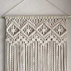 Macrame Patterns/Macrame Pattern/ Macrame Wall Hanging