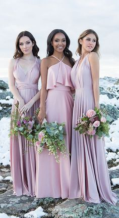 AllureBridal Bridesmaid Dresses / http://www.deerpearlflowers.com/allure-bridal-bridesmaid-dresses/ #bridesmaid #dresses #wedding