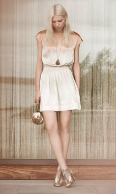It pains me how expensive Club Monaco is. Look at this dress! The E-store launched this week btw.