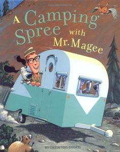 Bestseller Books Online A Camping Spree With Mr. Magee Chris Van Dusen $10.85