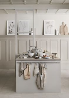 Beige kitchen by Marbodal - via Coco Lapine Design blog