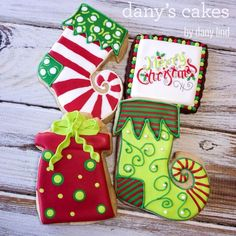 Whimsical Christmas by Dany's Cakes | Cookie Connection
