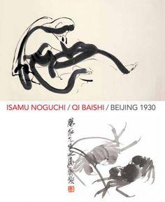 Isamu Noguchi and Qi Baishi: Beijing 1930 - The Noguchi Museum Isamu Noguchi, Manhattan Skyline, Long Island City, Chinese Painting, Japan Fashion, Community Art, Beijing, Literature, Art Gallery
