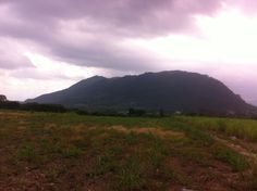 A shot of a mountain as we journey to Huatusco on Wednesday.