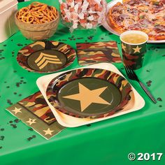 Camouflage Party Supplies - OrientalTrading.com