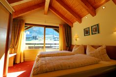 Ferienwohnung Nr. 17 - Schlafzimmer im Gatterhof in Riezlern #Kleinwalsertal Apartments, Curtains, Home Decor, Bed Room, Insulated Curtains, Homemade Home Decor, Blinds, Draping, Decoration Home