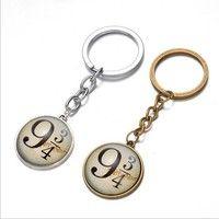 Wish | Harry Potter 9 And 3/4 Platform Pendant Key Chain Keyring Ring Key Fob Gift