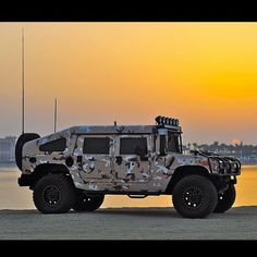 Mean Military Hummer