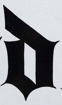 D #type #alphabet