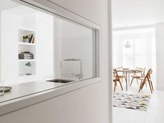Remodelling the interior layout of a small apartment in London's…