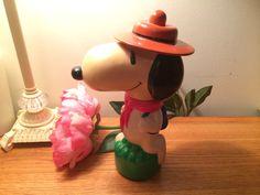 #Snoopy #Scout #Vintage Bubble Bath Bottle