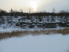 Fosforiidimaa / Phosphate Rock mining area in Estonia by Minest Snow, Rock, Outdoor, Search, Outdoors, Skirt, Searching, Locks, The Rock