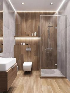 Bathroom ideas, bathroom remodel, master bathroom decor and bathroom organization! Master Bathrooms could be beautiful too! From claw-foot tubs to shiny fixtures, these are the master bathroom that inspire me the absolute most. Bathroom Design Luxury, Bathroom Layout, Modern Bathroom Design, Bath Design, Tile Layout, Small Bathroom Interior, Wc Design, Bathroom Colors, Kitchen Interior