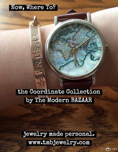 TMB Jewelry's Coordinate Collection - Wear your map.