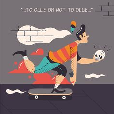 To ollie or not to ollie on Behance