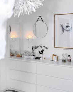 Ikea, Malms Kommoden Maren Baxter - New Ideas Teen Room Decor, Living Room Decor, Home Bedroom, Bedroom Decor, Bedrooms, Hack Ikea, Ikea Ikea, Interior Design Living Room Warm, Interior Livingroom