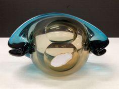 Vtg 50s 60s Eames Era Sommerso Murano Glass Venezia Vase G Giacobbi Foil Label | eBay