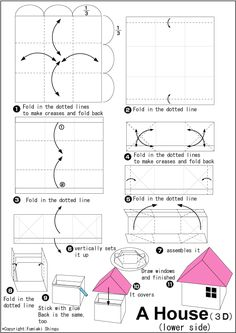 Origami House- bottom