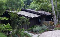 Interiors: the Cliff May-designed ranch house in Sullivan Canyon, Los Angeles