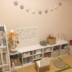 My Shelf/カラーボックス/子供部屋/おもちゃ収納のインテリア実例 - 2017-10-01 15:43:53 Baby Room Decor, Playroom, Kids Room, Home Decor, Home, Home Decoration, Nursery Decor, Game Room Kids, Room Kids