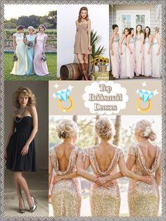Top 5 Bridesmaid Dresses 2016