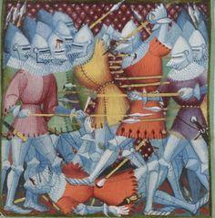 1390 - 1405 - BNF Français 2608 Les grandes Chroniques de France