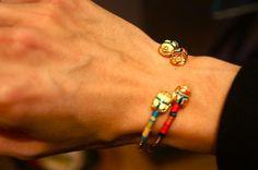 GAS Bijoux summer 2013; bracelets  en jonc