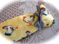 Awesome country kitchen chickens cover for your old door draft stopper. Created by Cath and for sale on Ebay. http://www.createdbycath.com