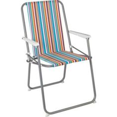 More Details On Habitat Africa Folding Chair Sling Sea Blue New Garden I