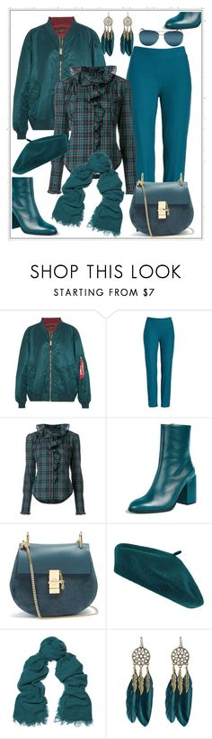 """""""Fall Styling in Teal"""" by onesweetthing ❤ liked on Polyvore featuring Vetements, Eileen Fisher, Faith Connexion, Dear Frances, Chloé, Accessorize, Rick Owens, WithChic and Prada"""